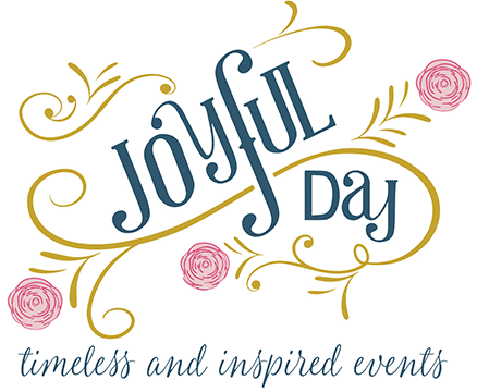 Joyful Day timeless and inspired events